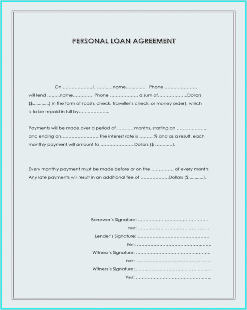 Loan Modification Forms Free