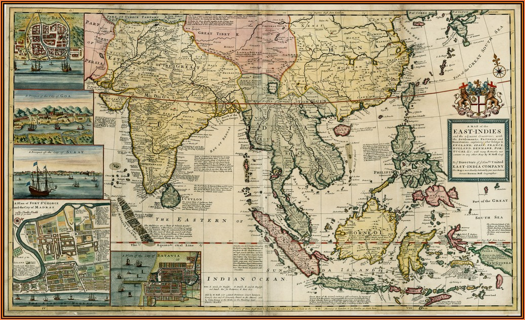 Map Of East Indies Countries