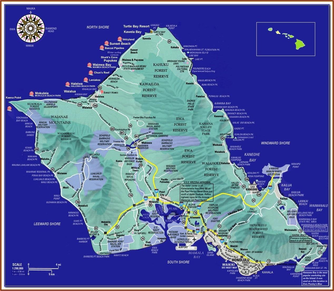 Map Of Hilton Head Island Hotels