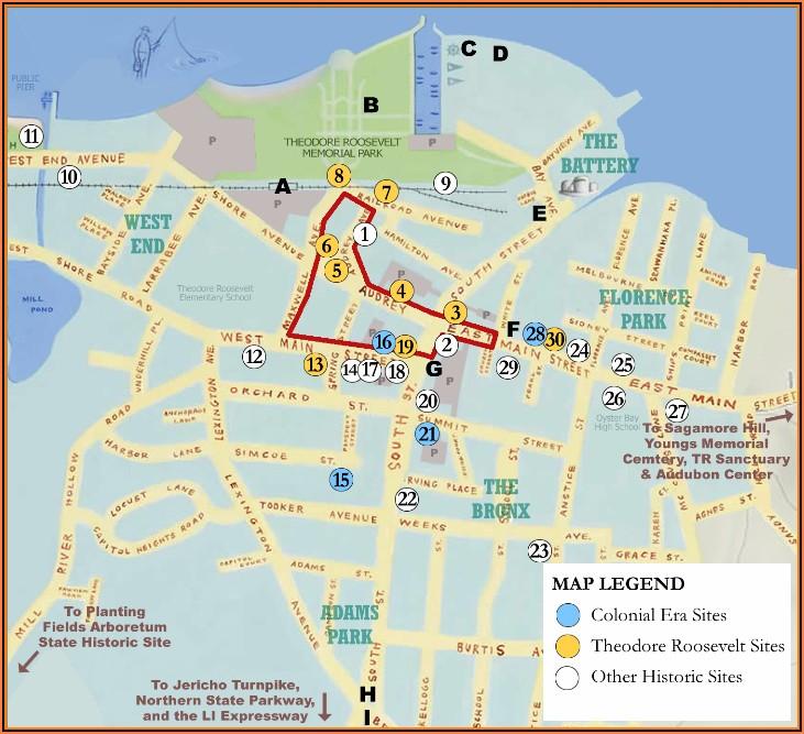 Map Of Oyster Bay Long Island Ny