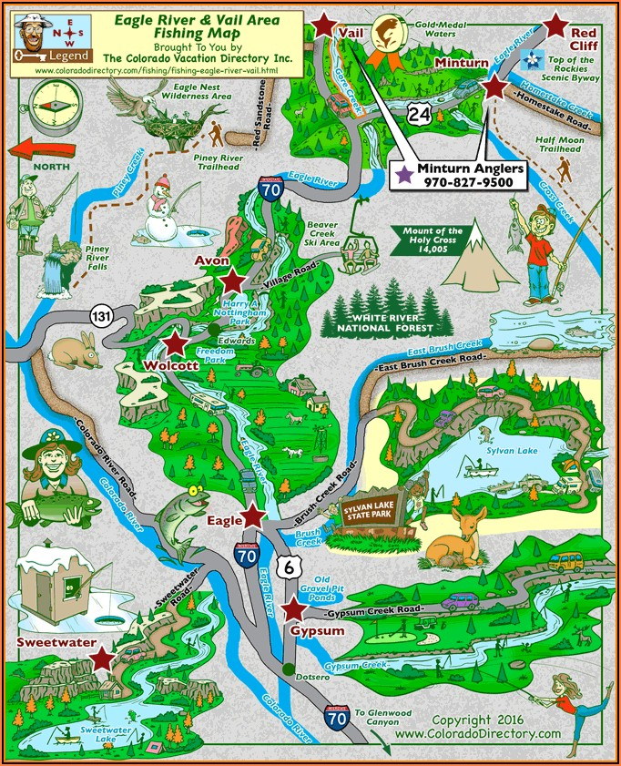 Map Of Vail Colorado Hotels