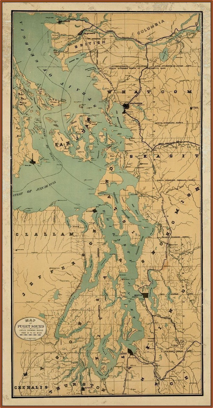 Maps Of Puget Sound