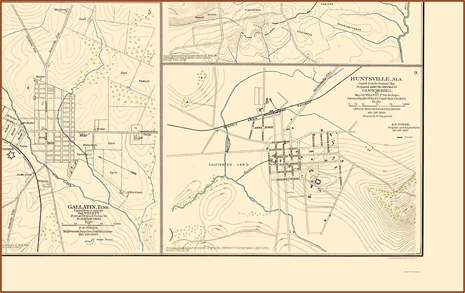 Maps Of Tennessee Cities
