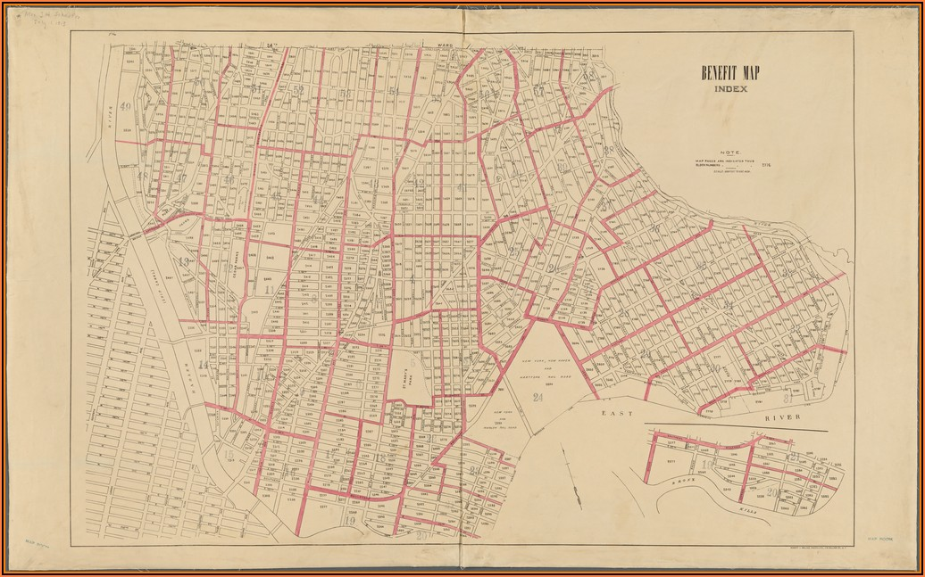 Maps Of The Bronx