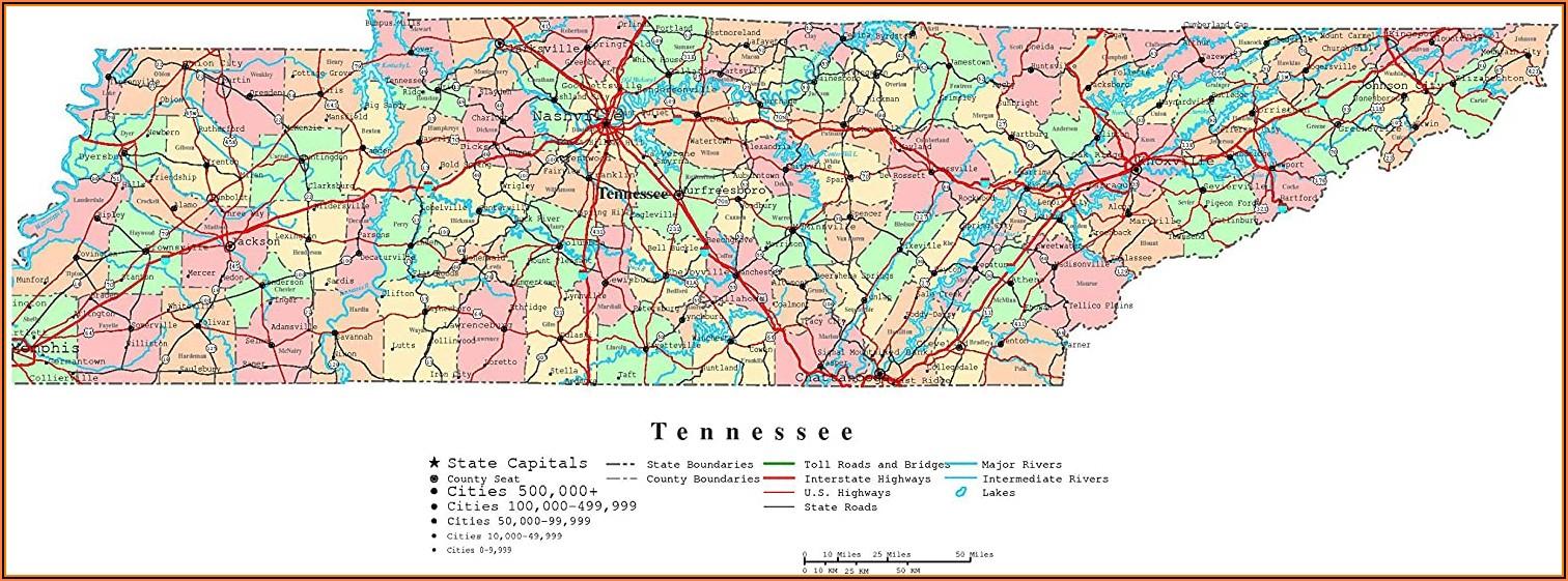 Maps Of Tn Cities