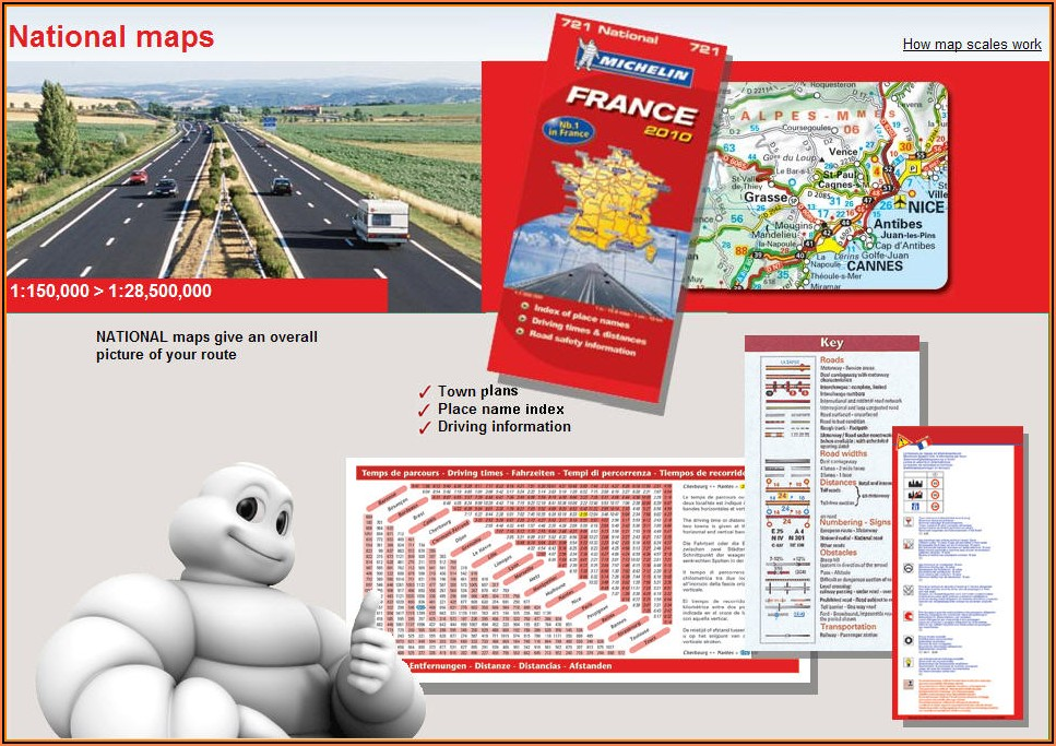 Michelin Europe Map