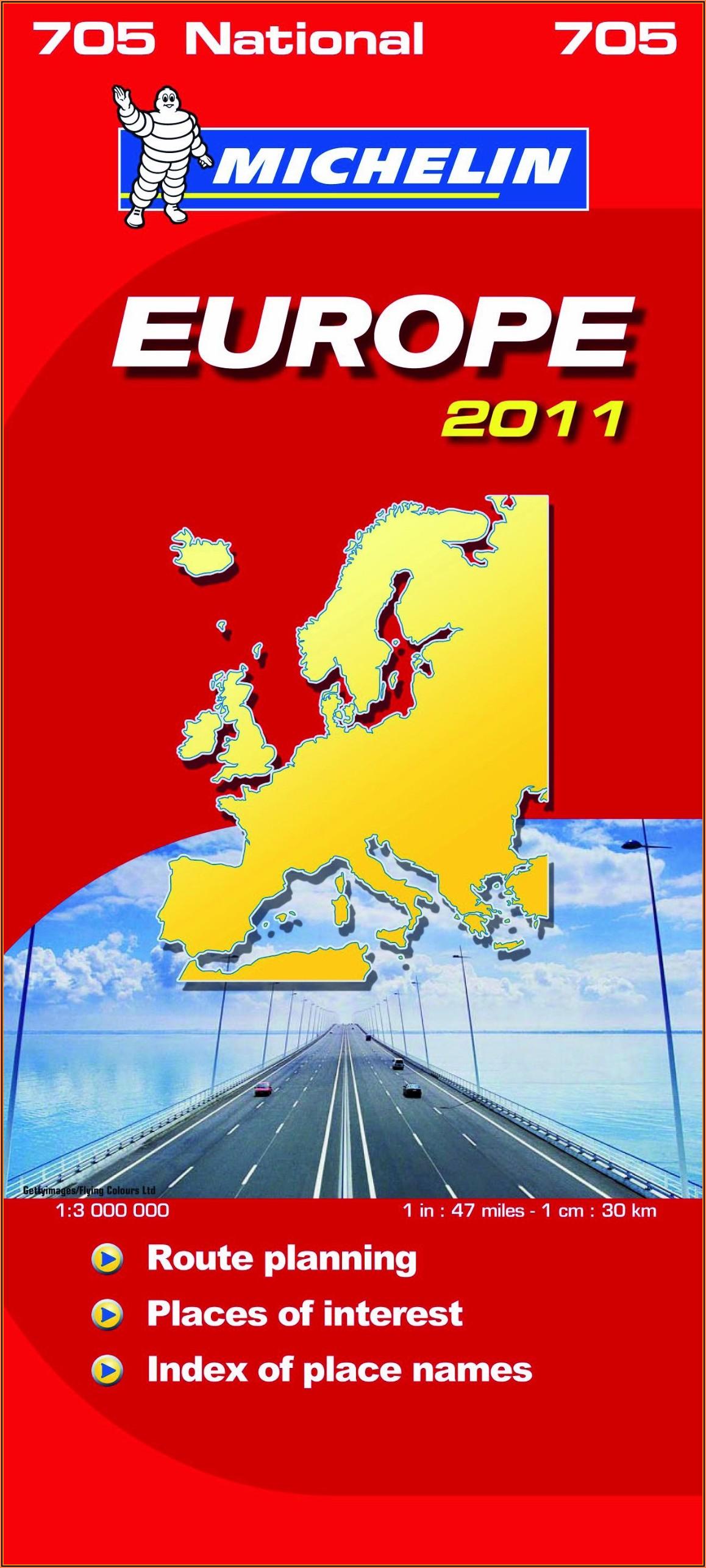 Michelin Maps Europe Online