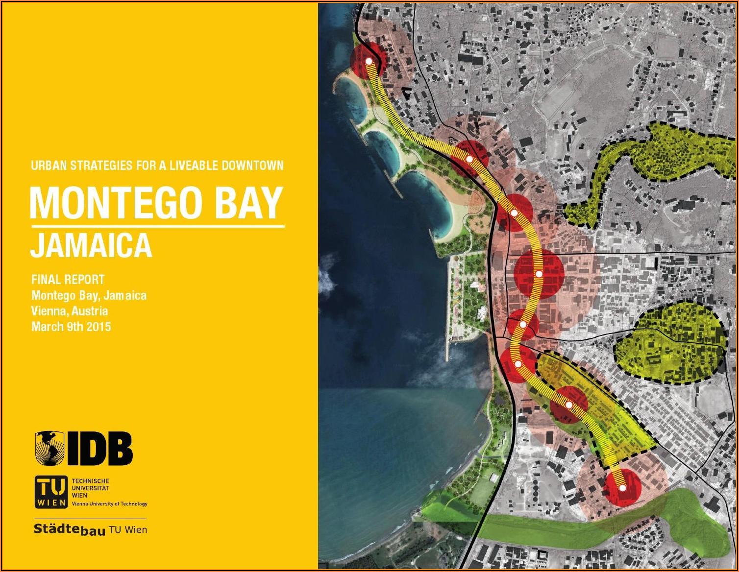 Montego Bay Hotel Zone Map