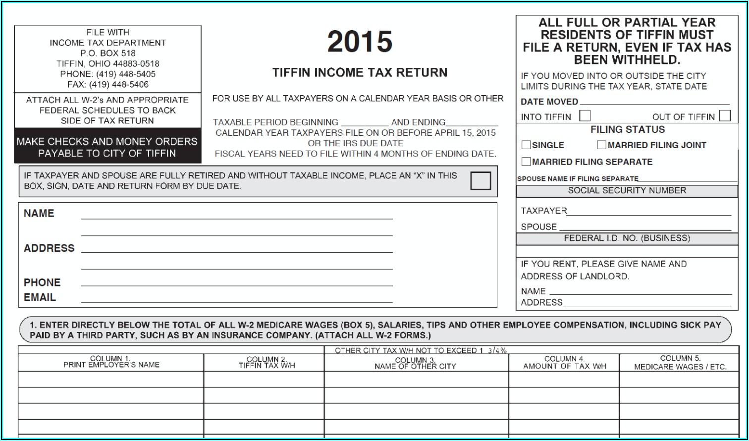 Ohio.gov Income Tax Forms
