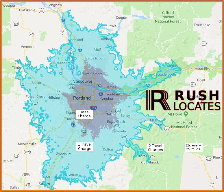 Portland Or Radon Map