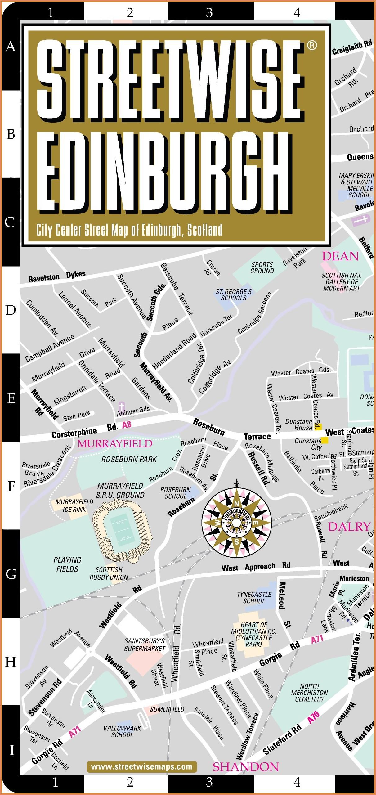 Streetwise City Maps