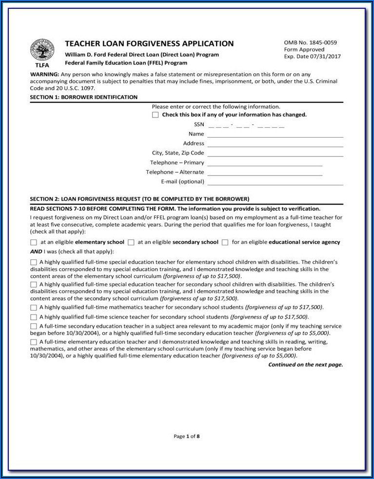 Student Loan Deferment Form Navient