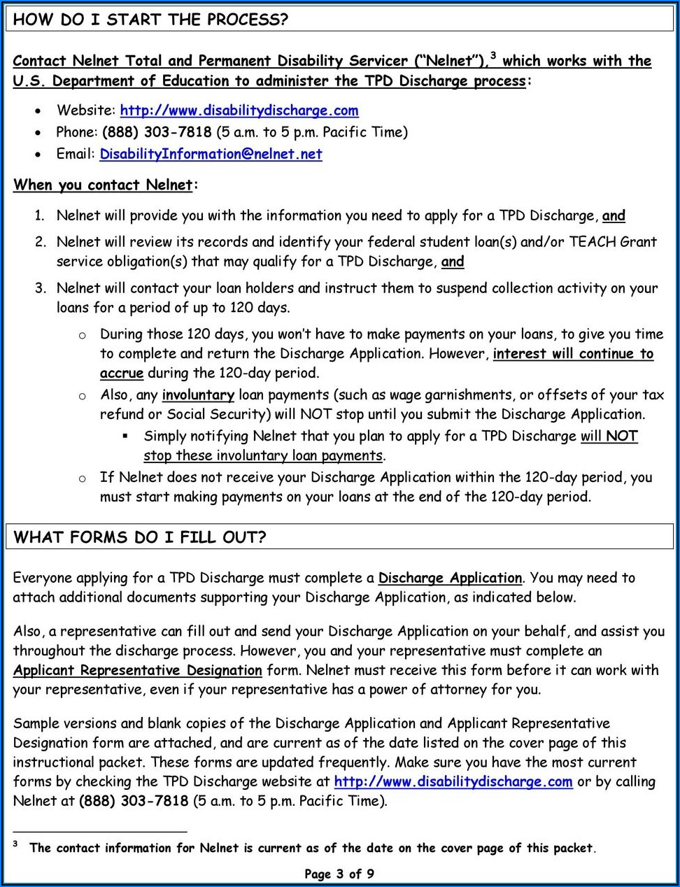 Student Loan Deferment Form Nelnet