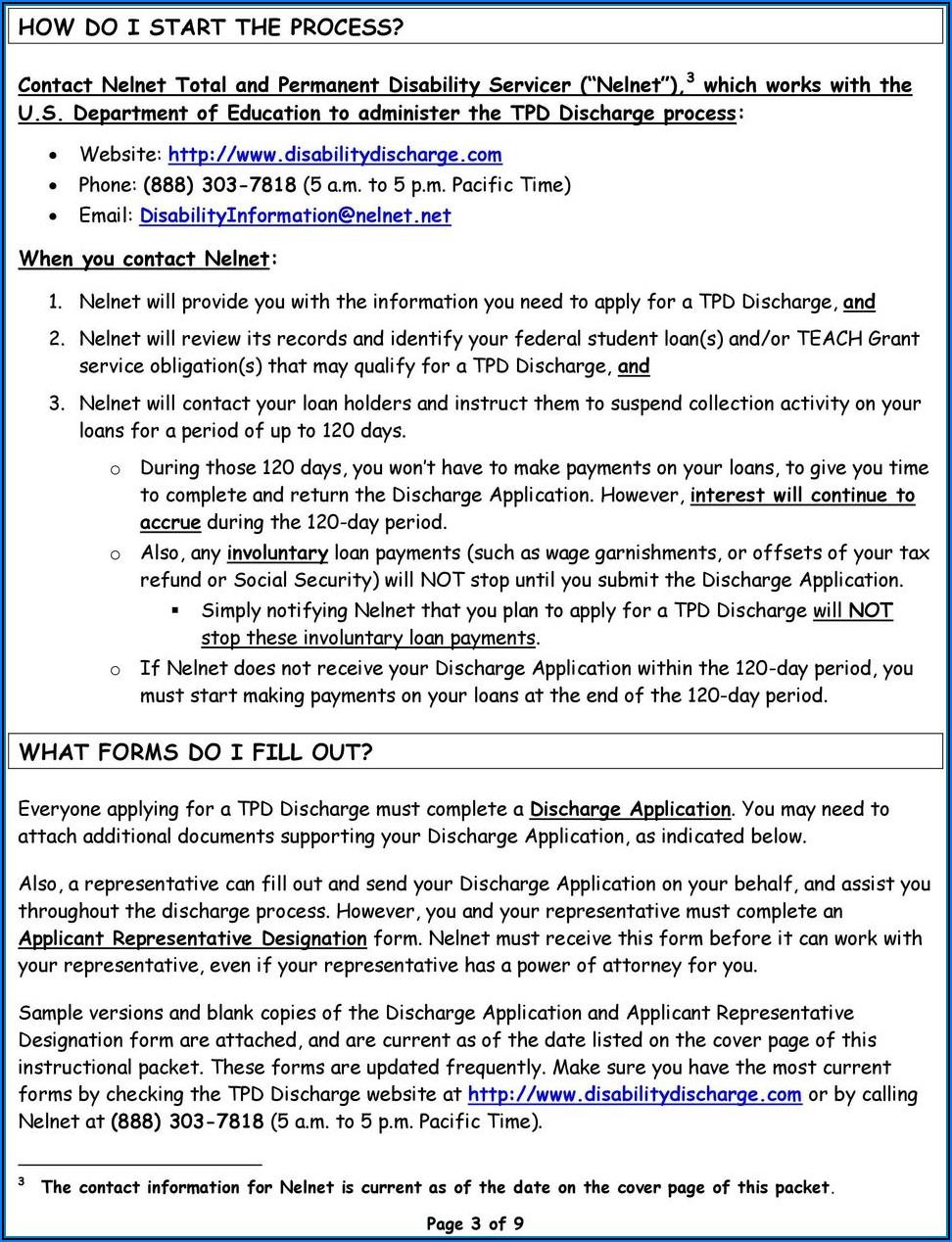 Student Loan Deferment Form Nelnet