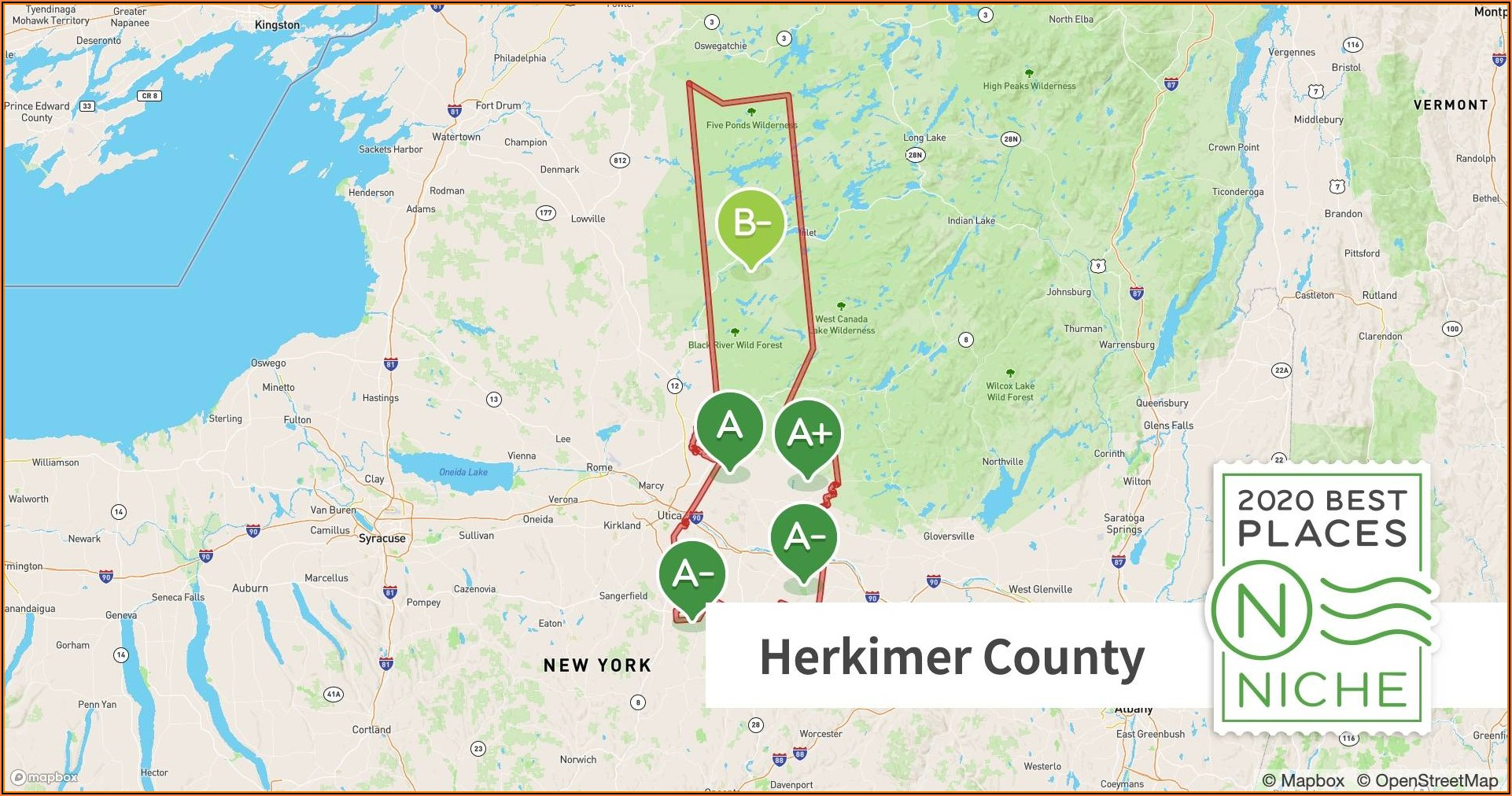 Tax Map Herkimer County Ny
