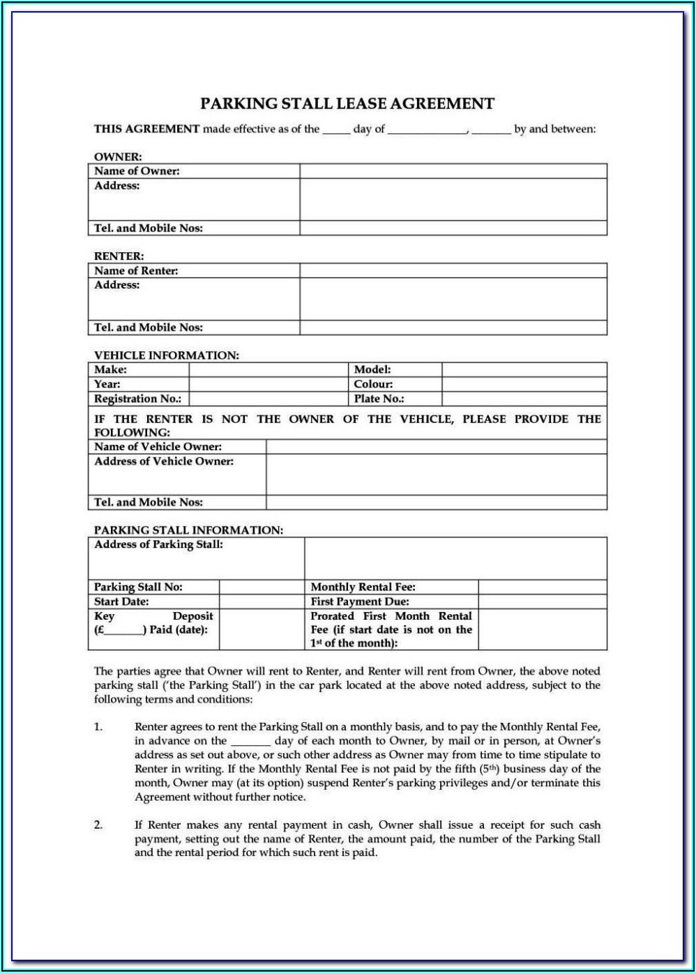Tenancy Application Form Bc