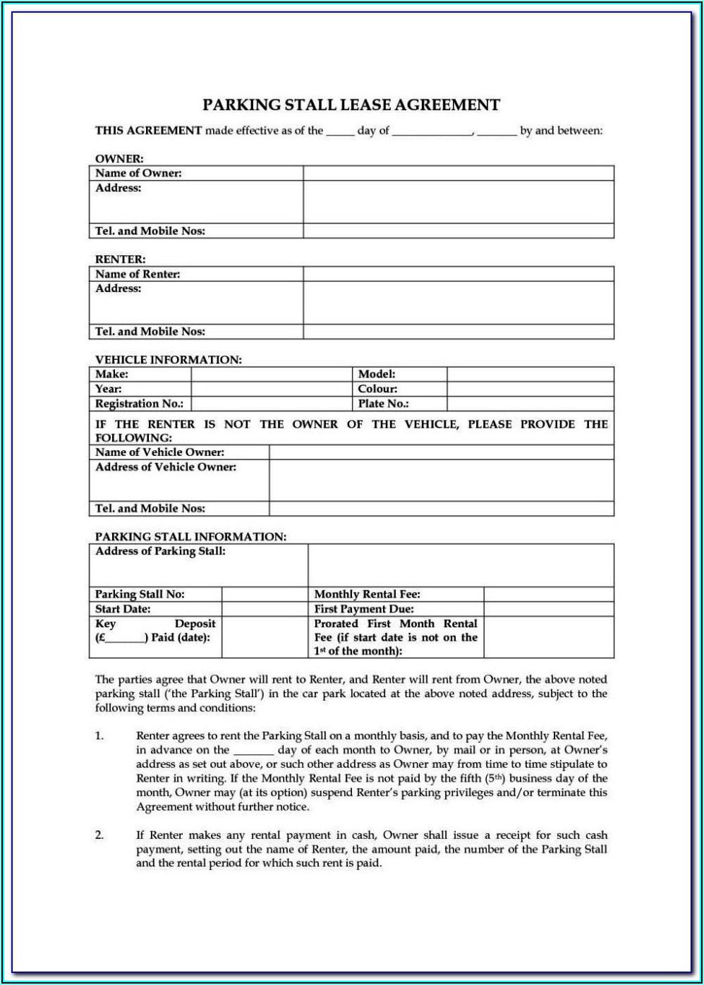 Tenancy Application Form Bc