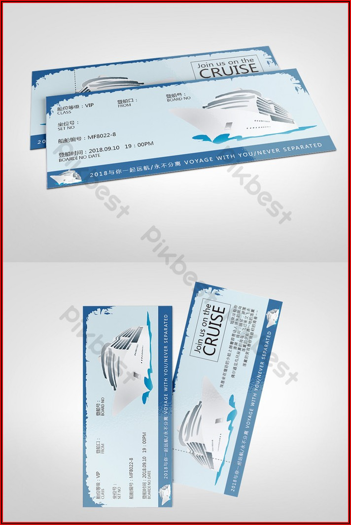 Ticket Template Download Word