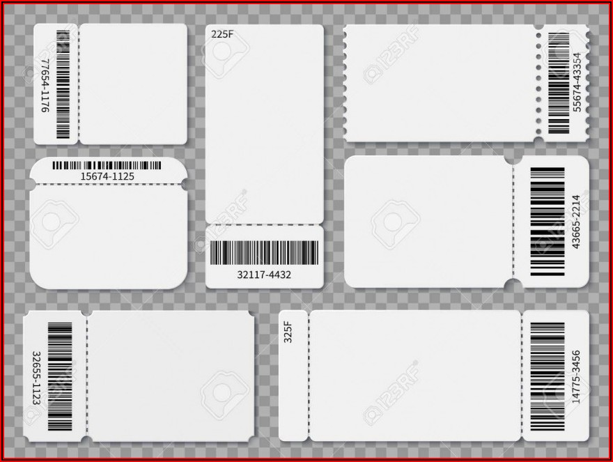 Ticket Template Download
