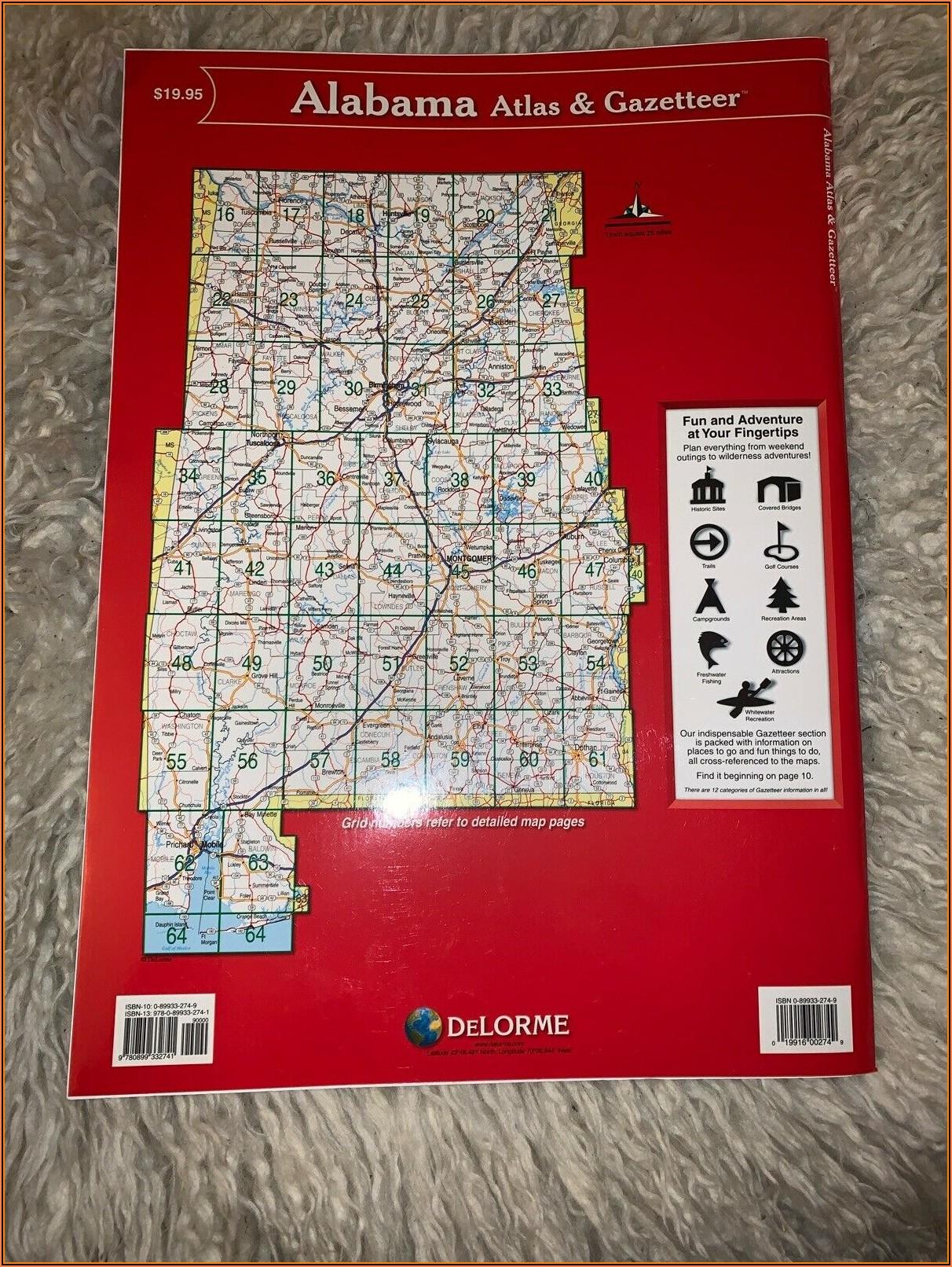 Topo Maps Alabama