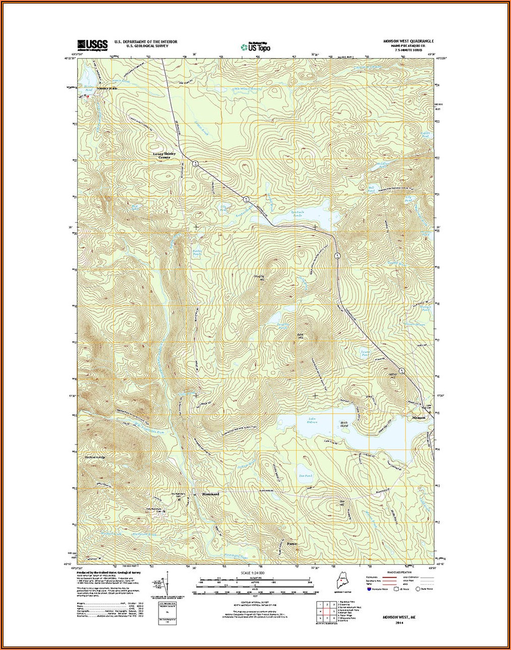 Topo Maps Of Maine Free