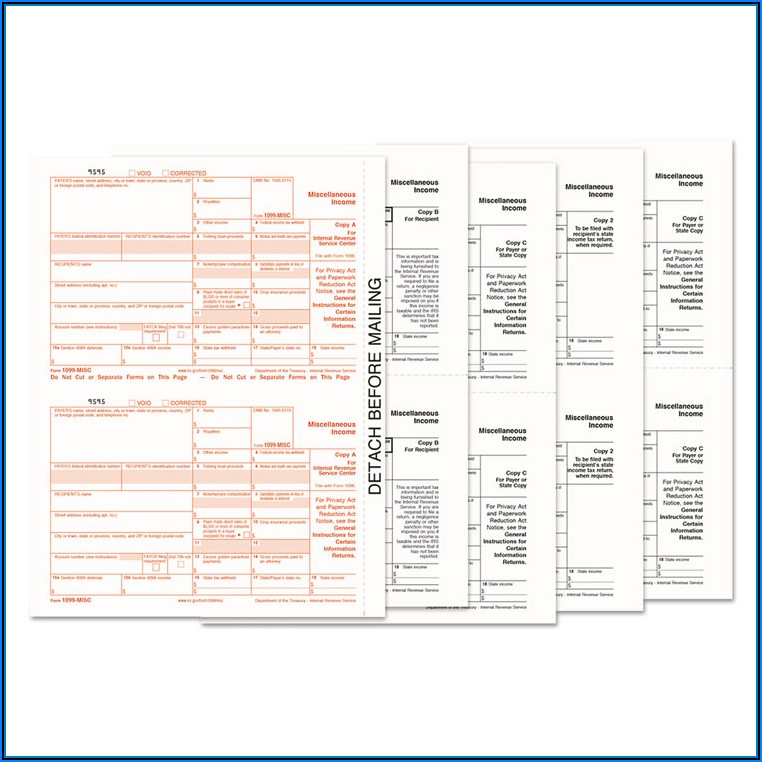Tops 1099 Forms
