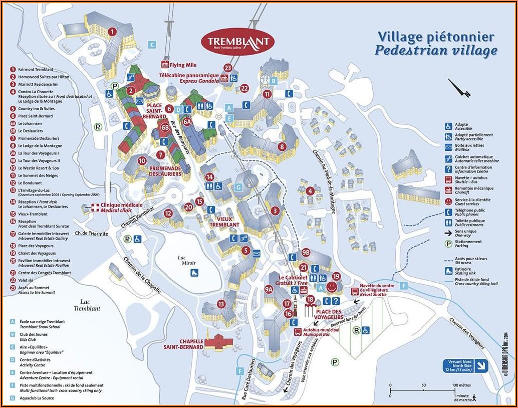 Tremblant Hotel Map