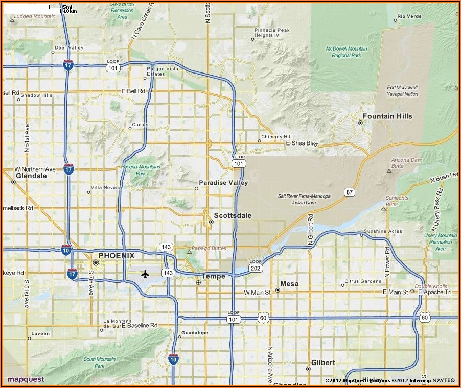 Truck Route Directions Mapquest