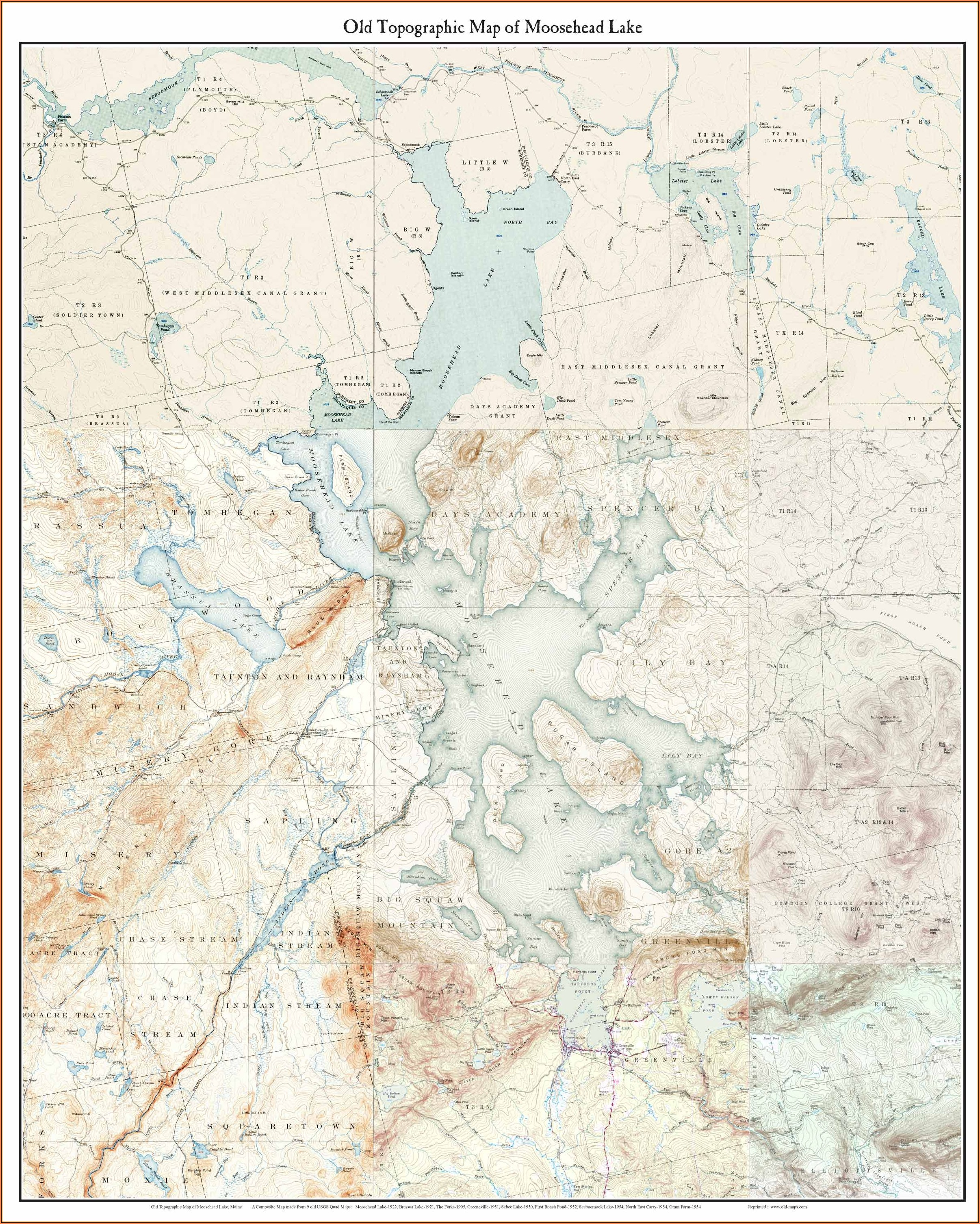 Usgs Topo Maps Maine