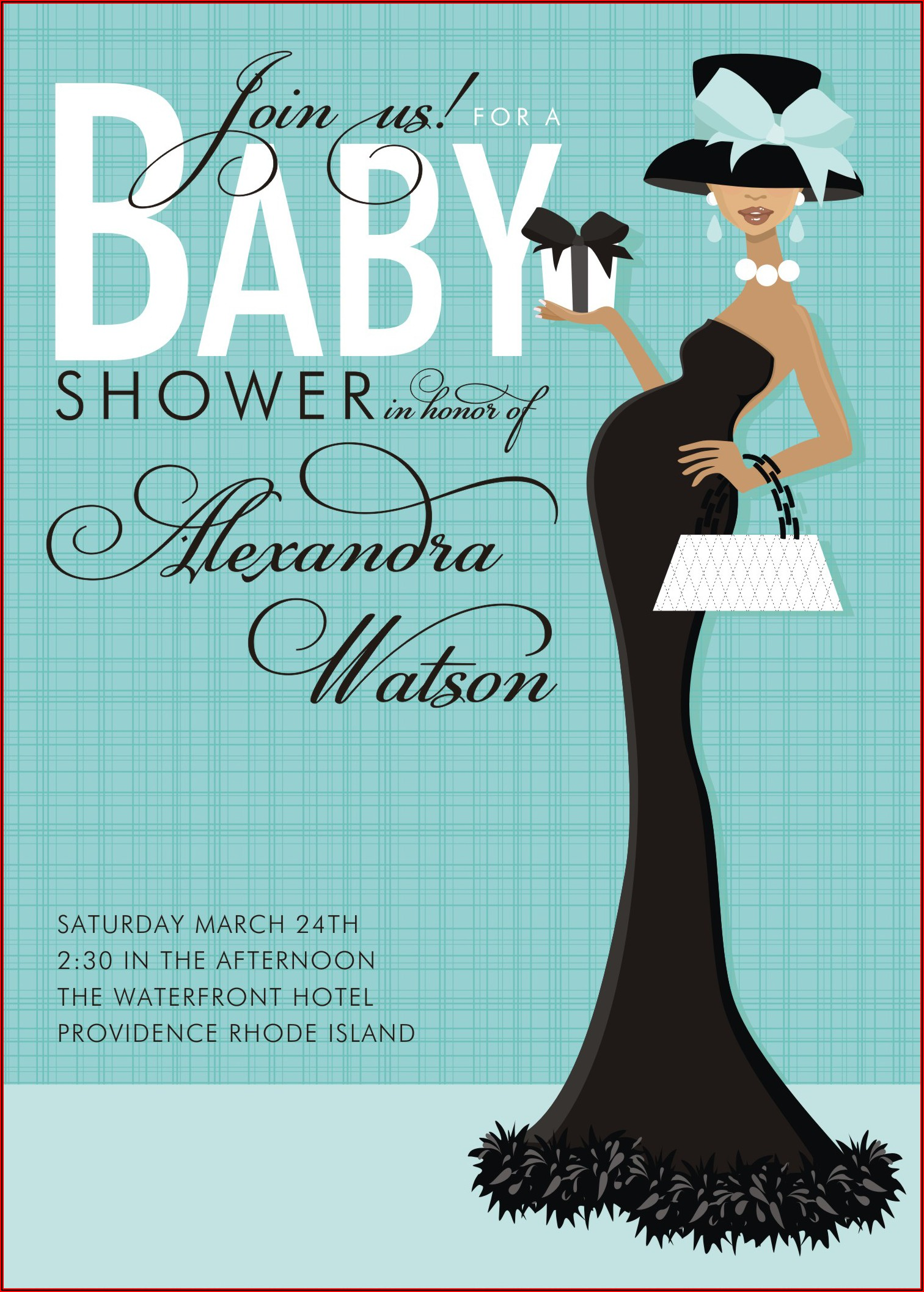 Vintage Baby Shower Invitation Templates Free