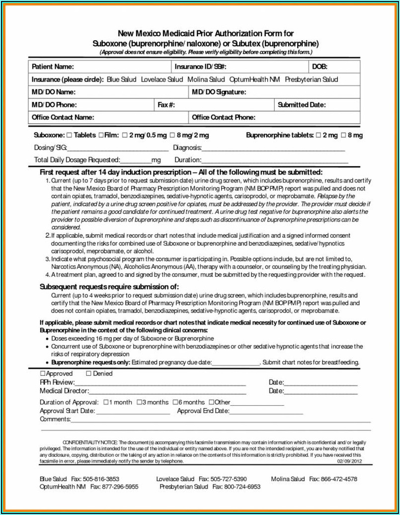 Virginia Medicaid Prior Authorization Forms