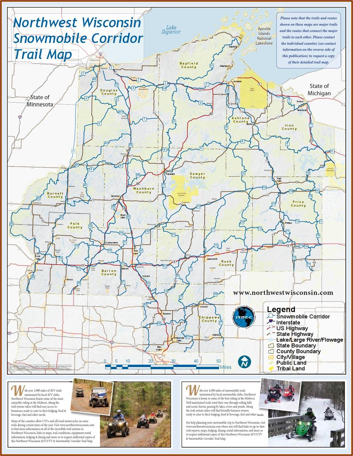 Wi Snowmobile Trail Map App