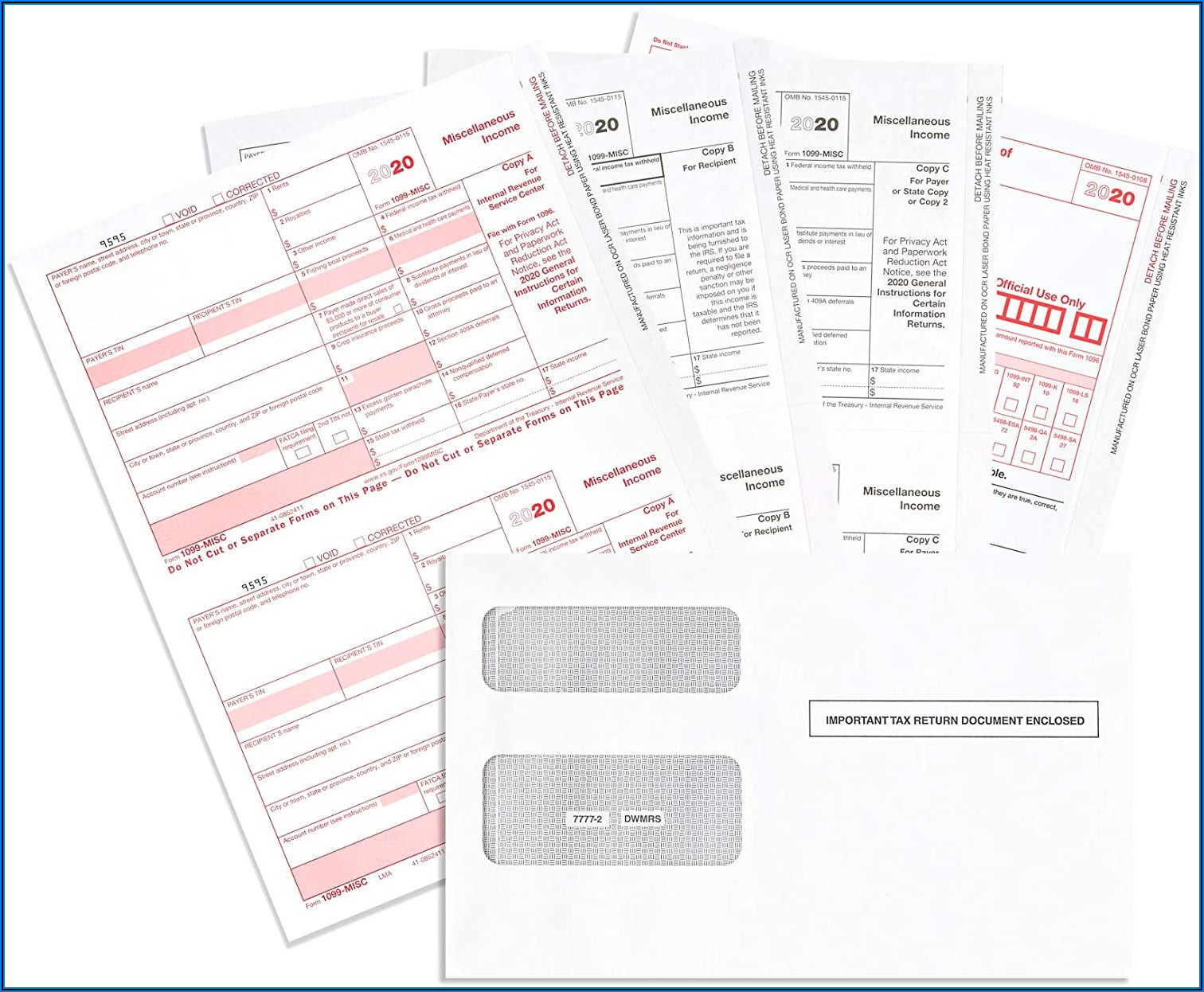 1099 Misc Forms Kit
