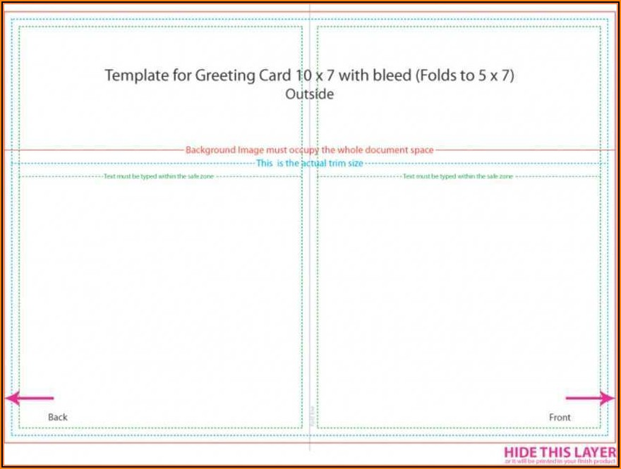 5 X 7 Postcard Template Microsoft Word
