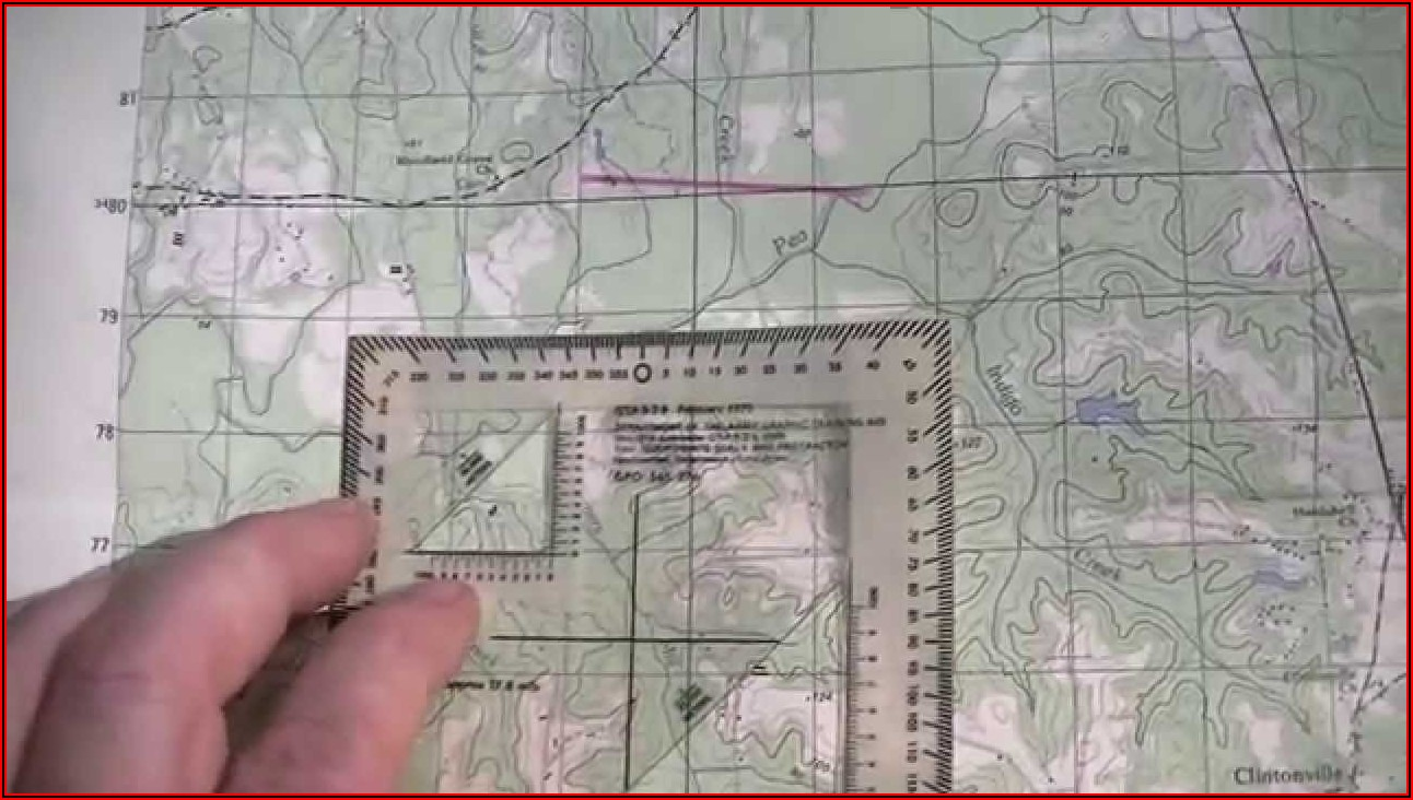 Army Land Navigation And Map Reading Powerpoint