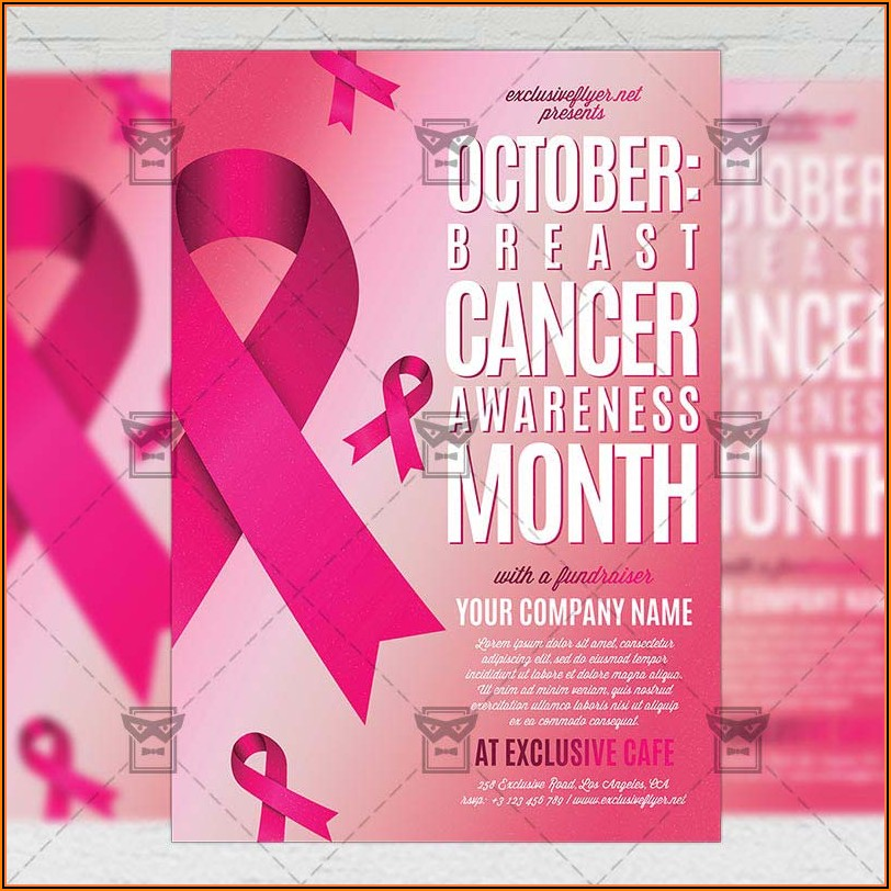 Breast Cancer Fundraiser Invitation Templates