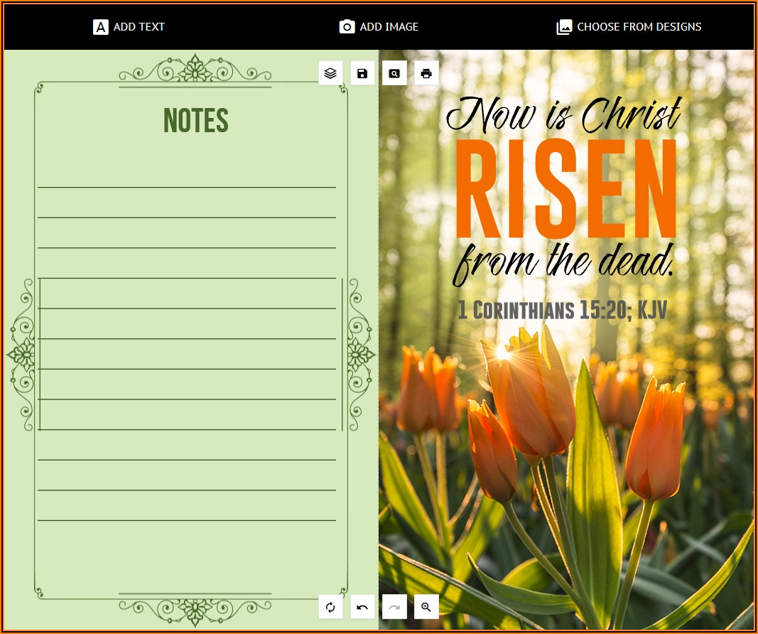 Church Event Program Templates Free