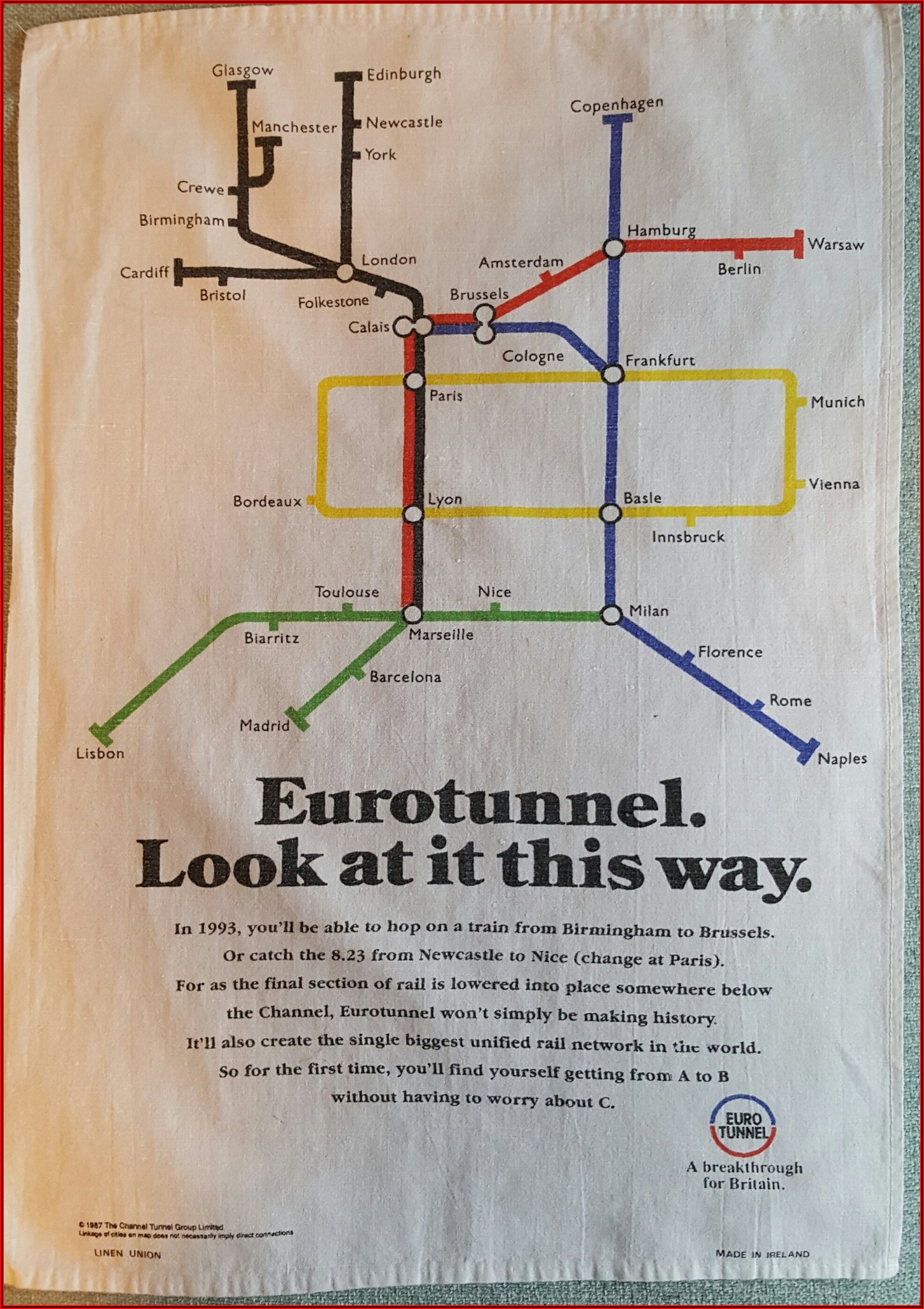 Eurostar Maps And Routes