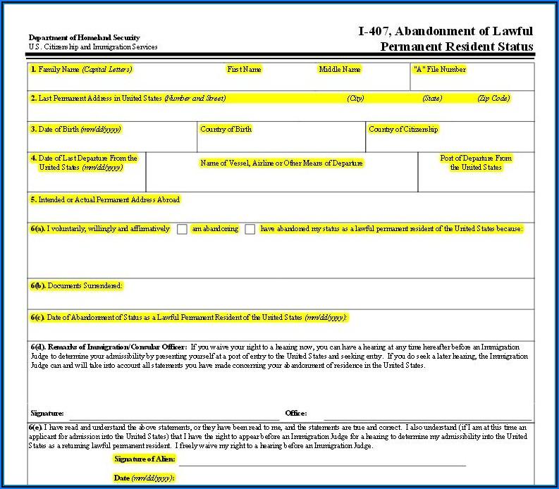 Federal Tax Return Form 1040nr