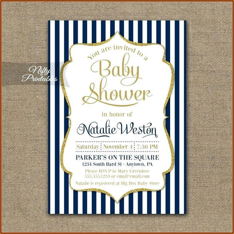 Free Editable Royal Baby Shower Invitation Templates