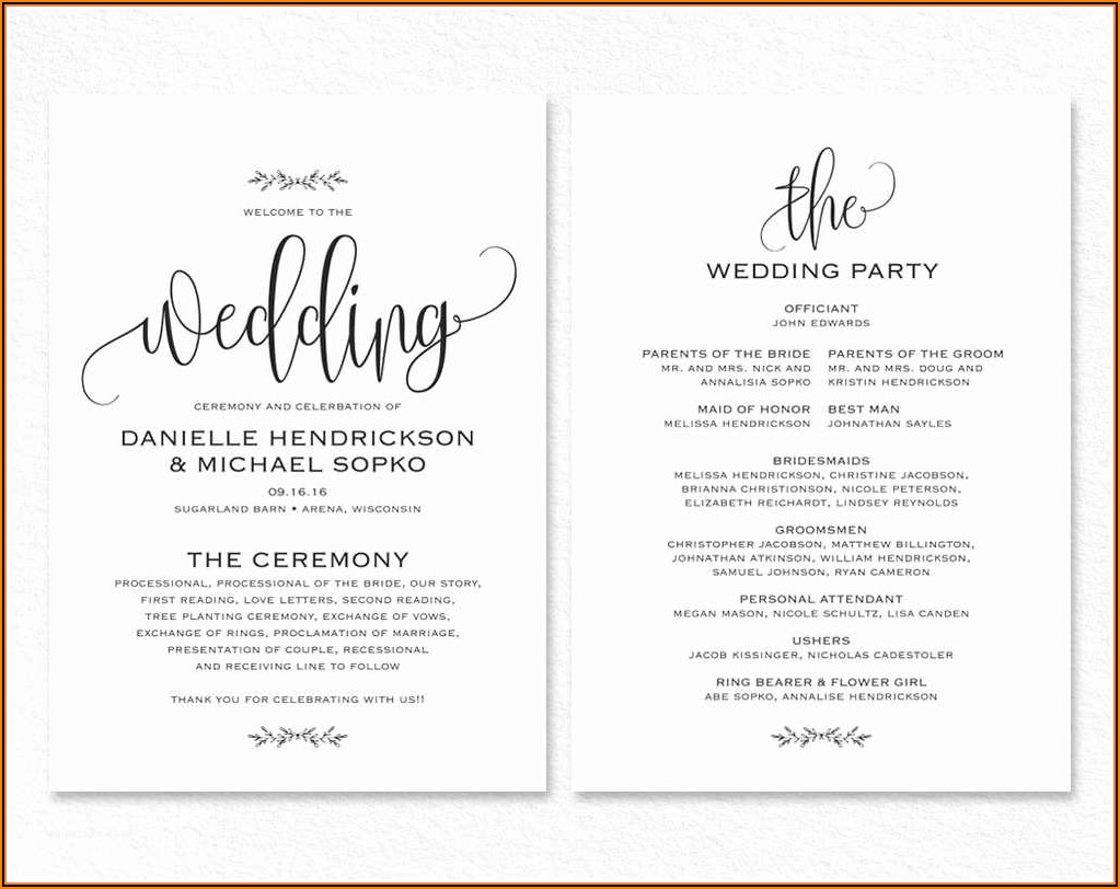 Free Editable Wedding Invitation Templates For Word