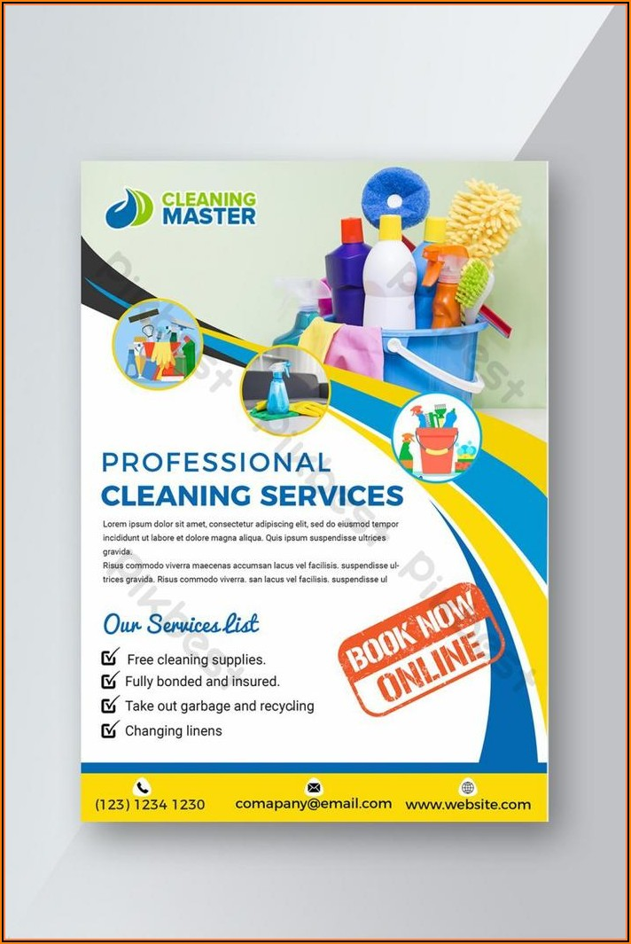 Free Home Cleaning Flyers Templates