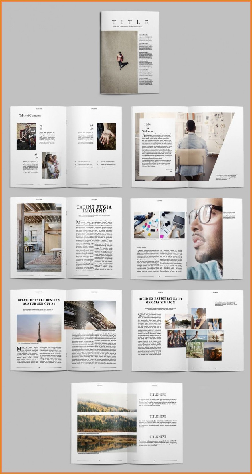 Free Indesign Photobook Templates Download