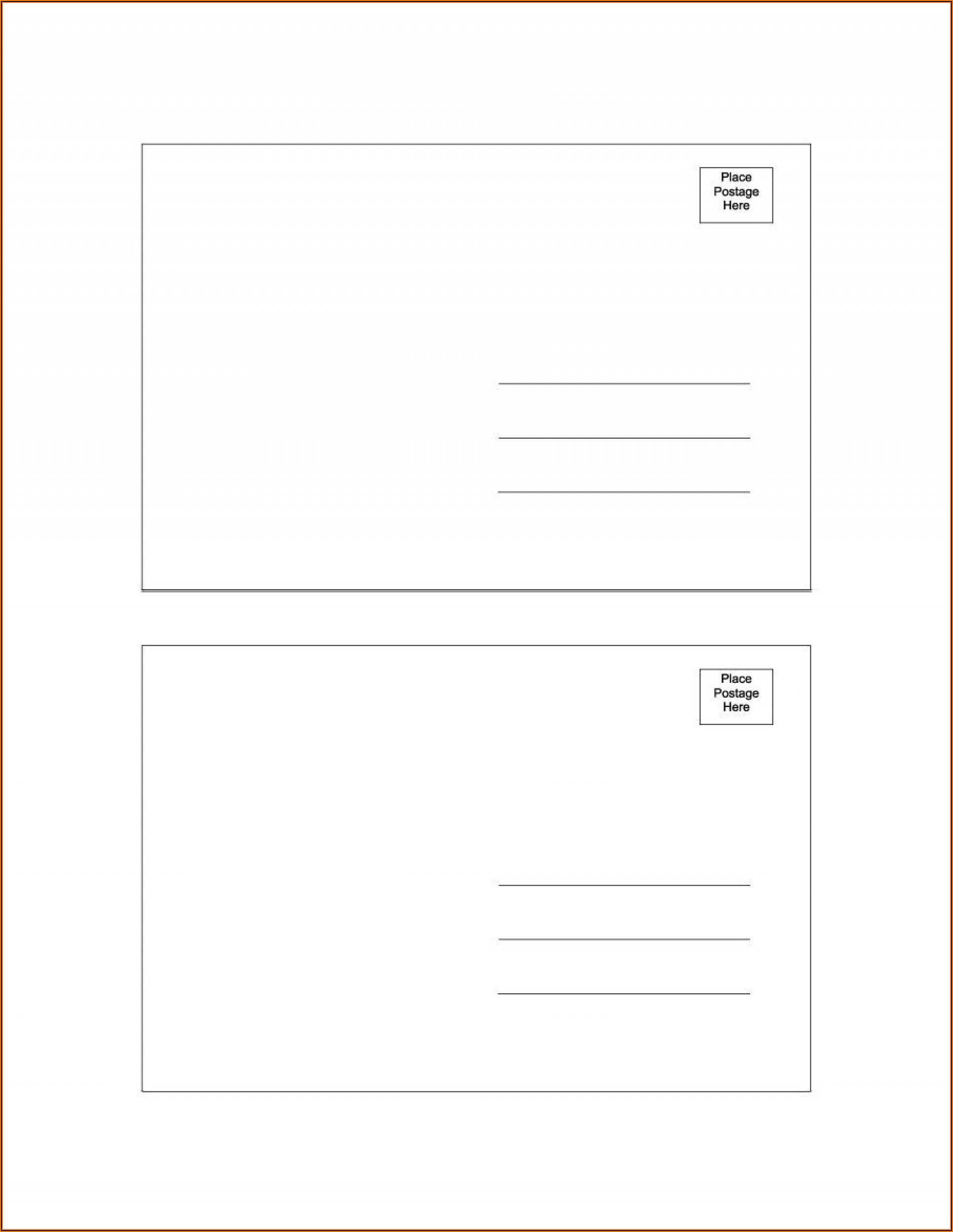 Free Real Estate Postcard Templates Microsoft Word