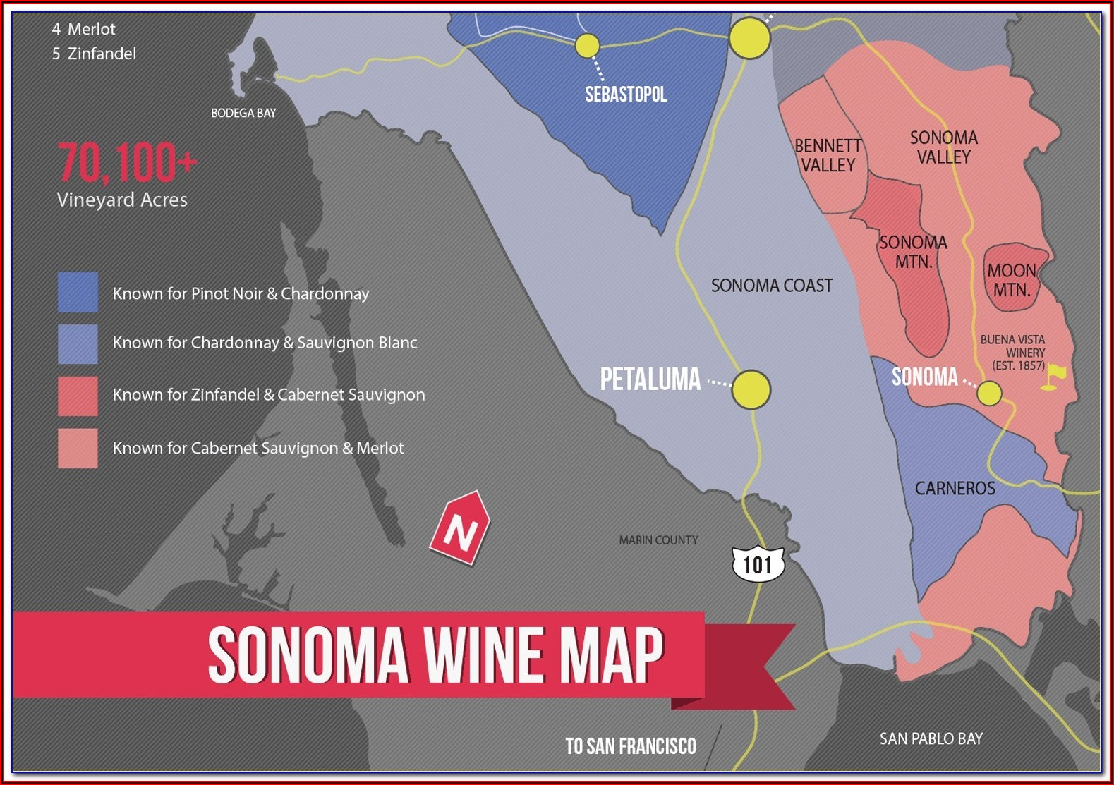 French Wine Appellations Map