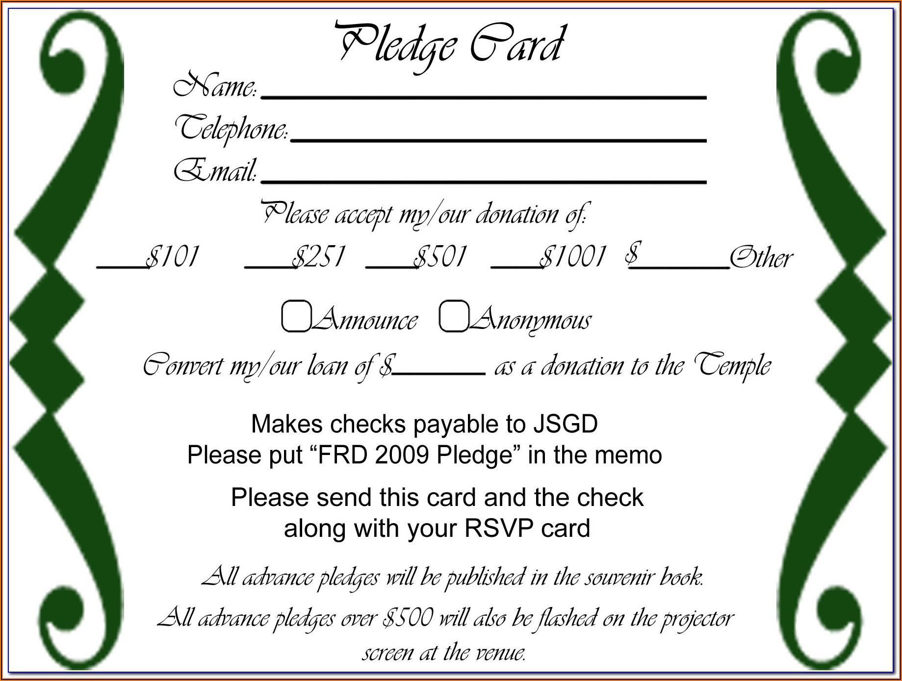 Fundraising Invitation Templates Free Download