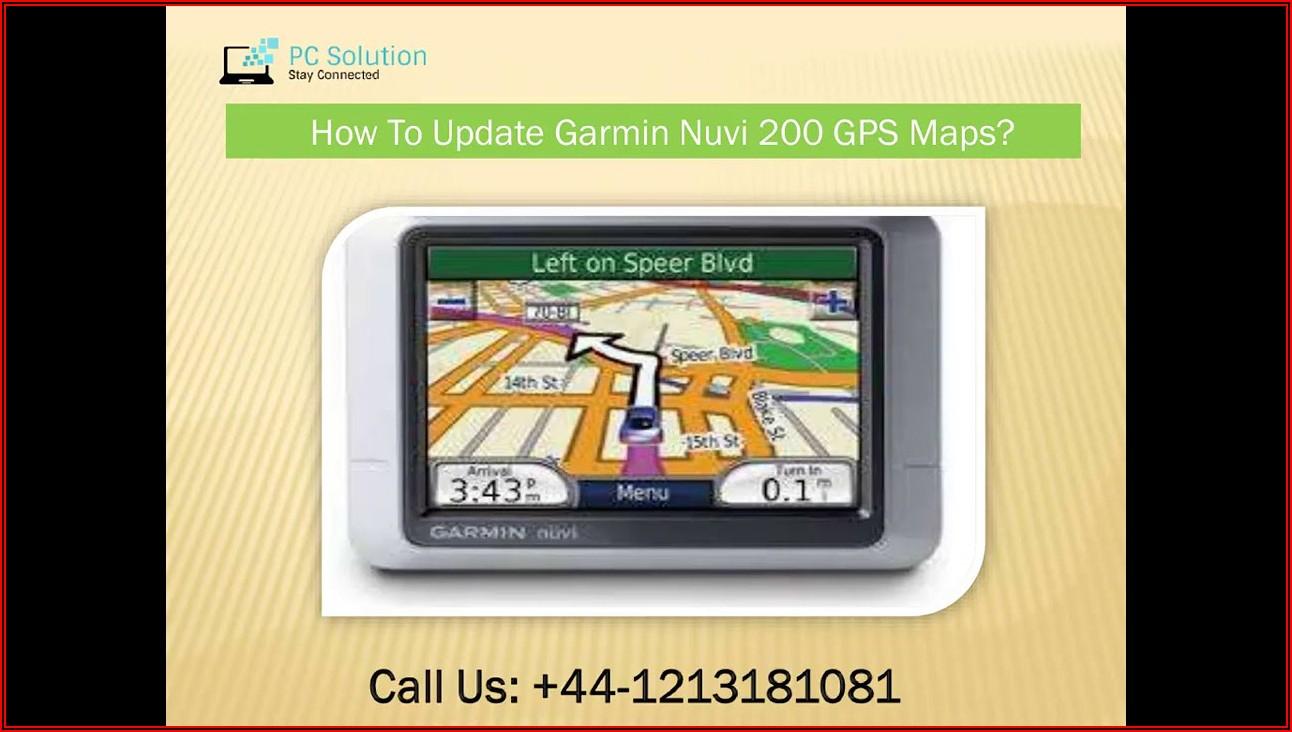 Garmin Nuvi 200 Map Update Free