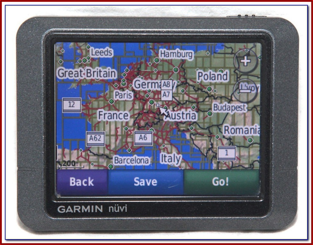 Garmin Nuvi 200 Map Update South Africa