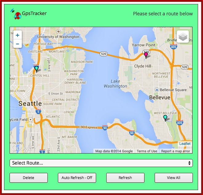 Google Maps Gps Tracking Php