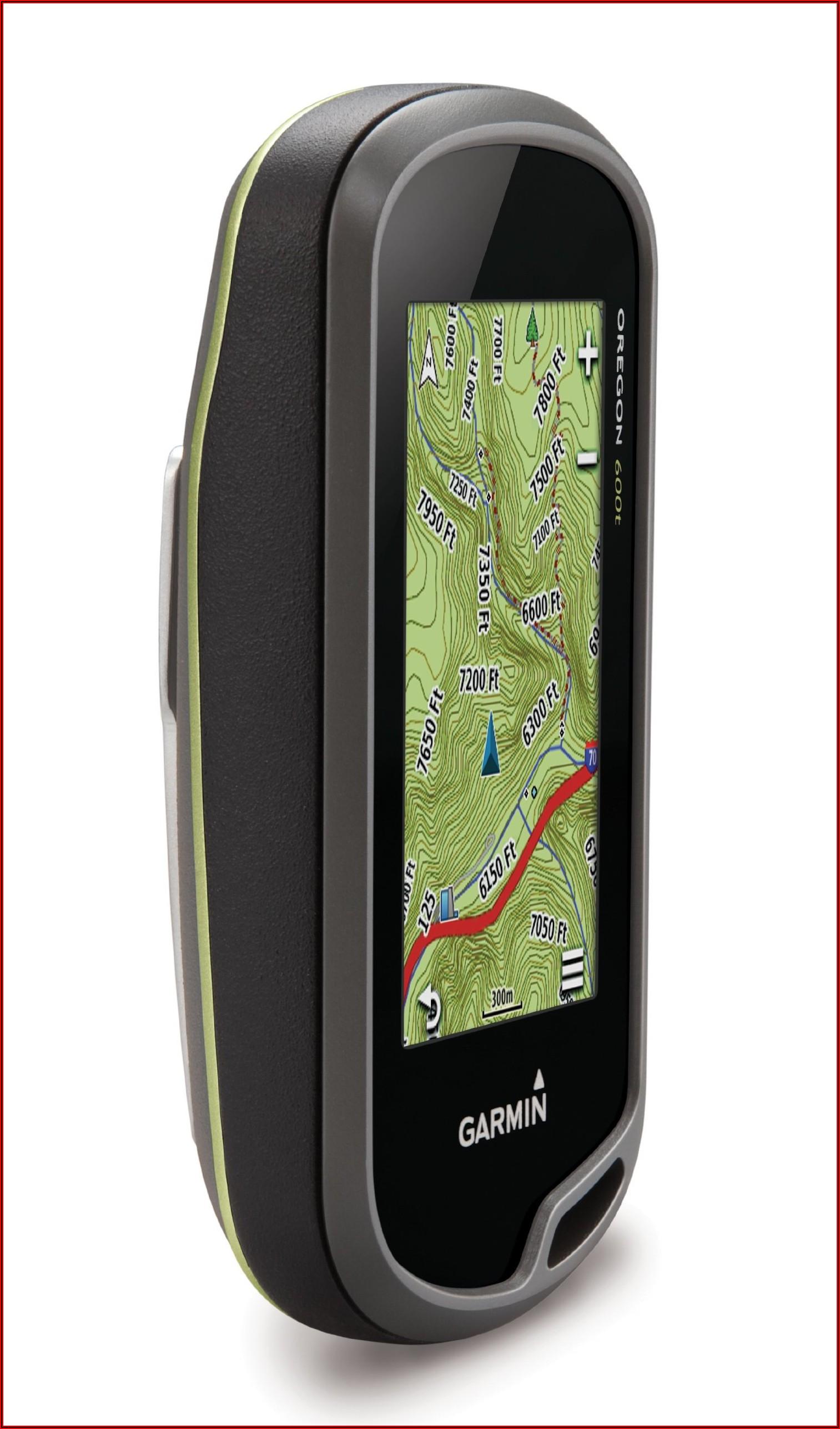 Handheld Gps With Topographic Maps